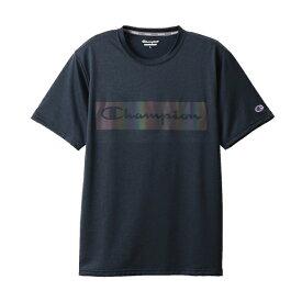チャンピオン CHAMPION メンズ C VAPOR Tシャツ(Mサイズ/ネイビー) C3-RS303