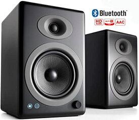AUDIOENGINE ワイヤレススピーカーシステム(ペア) サテン・ブラックペイント A5+BTB [Bluetooth対応]