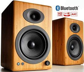 AUDIOENGINE ワイヤレススピーカーシステム(ペア) ソリッド・バンブー A5+BTN [Bluetooth対応]