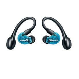 SHURE シュアー フルワイヤレスイヤホン AONIC215SPECIAL EDITION トランスルーセントブルー SE215SPE-B-TW1-A [マイク対応 /ワイヤレス(左右分離) /Bluetooth]