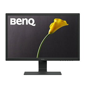 BenQ ベンキュー GL2480 GL2480 24インチ液晶モニター/ディスプレイ [フルHD/TN/非光沢/1ms/75Hz/輝度自動調整機能(B.I.)/ブルーライト軽減/フリッカーフリー/電子ペーパーモード/HDMI/D-sub/DVI] ブラック [24型 /ワイド /フルHD(1920×1080)]