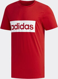 アディダス adidas メンズ MグラフィックTシャツ(Lサイズ/スカーレット×ホワイト) GVB54 FM6264