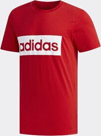 アディダス adidas メンズ MグラフィックTシャツ(2XOサイズ/スカーレット×ホワイト) GVB54 FM6264