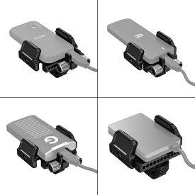 SMALLRIG SmallRig 外部SSD用汎用ホルダー2343 SmallRig ブラック BSH2343