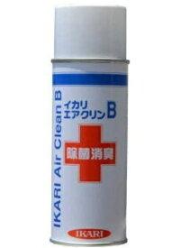イカリ消毒 IKARI イカリ消毒 エアクリン 420ml 強力除菌消臭エアゾール