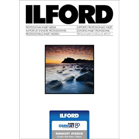 イルフォード ILFORD 433133 〔インクジェット〕オムニジェット スタジオ グラフィックマット 210μm [2L判 /100枚]