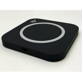 ウイルコム WILLCOM ワイヤレス充電器 Type-Cケーブル一体型ACアダプタ付属 ブラック