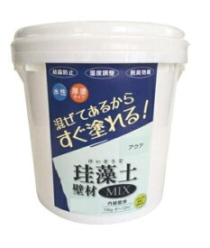 フジワラ化学 Fujiwara Chemical フジワラ化学 #47019 珪藻土壁材MIX 10kg アクア