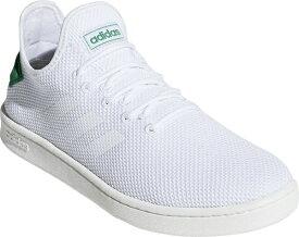 アディダス adidas 24.5cm メンズ ウォーキングシューズ コートアダプト2.0 U COURTADAPT2.0 U(フットウェアホワイト×フットウェアホワイト×グリーン) F36417