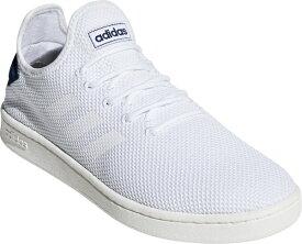 アディダス adidas 23.5cm メンズ ウォーキングシューズ コートアダプト2.0 U COURTADAPT2.0 U(フットウェアホワイト×フットウェアホワイト×ダークブルー) F36416