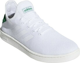 アディダス adidas 23.5cm メンズ ウォーキングシューズ コートアダプト2.0 U COURTADAPT2.0 U(フットウェアホワイト×フットウェアホワイト×グリーン) F36417