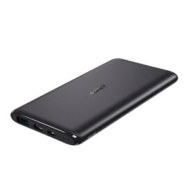 AUKEY オーキー モバイルバッテリー Sprint Go 5 18W 出力 ブラック PB-XN5-BK [5000mAh /2ポート /充電タイプ]