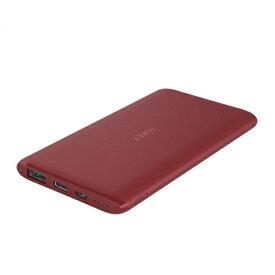 AUKEY オーキー AUKEY(オーキー) モバイルバッテリー Sprint Go 5 5000mAh 18W [USB-A 1ポート/Type-C 1ポート]出力 レッド AUKEY(オーキー) Red PB-XN5-RD [5000mAh /2ポート /microUSB /USB-C /充電タイプ]