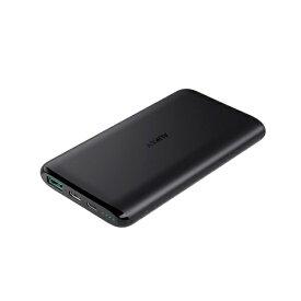 AUKEY オーキー AUKEY(オーキー) モバイルバッテリー Sprint Go 10c 10000mAh 37W [USB-A 1ポート/Type-C 1ポート]出力 ブラック AUKEY(オーキー) Black PB-XN10-BK [10000mAh /2ポート /microUSB /USB-C /充電タイプ]