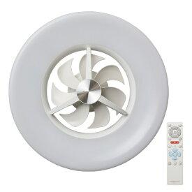 ドウシシャ DOSHISHA サーキュレーター機能搭載LEDシーリングライト 〜6畳 調光 DCC-06NM [リモコン付き /6畳 /昼光色]
