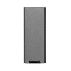 OWLTECH オウルテック 繰り返し1000回充電可能 USB Type-Cポート搭載 SmartIC対応モバイルバッテリー 5000mAh ガンメタル OWL-LPB5007-GM