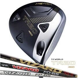本間ゴルフ HONMA GOLF ドライバー T//WORLD TR20-460 9.5°《VIZARD FD6シャフト》S
