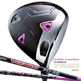 本間ゴルフ HONMA GOLF ドライバー T//WORLD TR20-460 Lee Bo-Mee Limited Edition 9.5°《VIZARD FD-5 シャフト》S