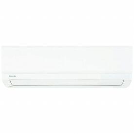 東芝 TOSHIBA エアコン 6畳 エアコン 2020年 G-Mシリーズ ホワイト RAS-G221M-W [おもに6畳用 /100V]