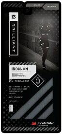 イイヅカ ブリリアント アイロンオン リフレクティブ(ブラック) BRC8001BLK
