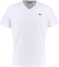 ラコステ LACOSTE メンズ ウエア Tシャツ ベーシックVネックTシャツ (半袖)(3(Sサイズ)/ホワイト)TH632EM
