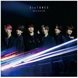 【2020年07月22日発売】 ソニーミュージックマーケティング 【特典付き】SixTONES/ NAVIGATOR 通常盤【CD】