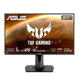 ASUS エイスース VG279QM ゲーミングモニター TUF GAMING ブラック [27型 /ワイド /フルHD(1920×1080)][27インチ 液晶ディスプレイ]