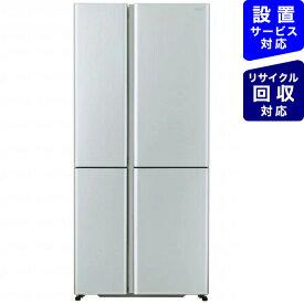 AQUA アクア AQR-TZ51J-S 冷蔵庫 サテンシルバー [4ドア /左右開きタイプ /512L][冷蔵庫 大型 両開き]《基本設置料金セット》