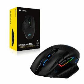 CORSAIR コルセア CH-9315511-AP ゲーミングマウス DARK CORE RGB PRO SE(Qiワイヤレス充電) ブラック [光学式 /8ボタン /Bluetooth・USB /無線(ワイヤレス)]