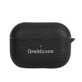 オロビアンコ Orobianco オロビアンコ シュリンク PU Leather AirPods Pro Case ブラック AP3PORB01