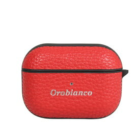 イングリウッド inglewood オロビアンコ シュリンク PU Leather AirPods Pro Case レッド AP3PORB03