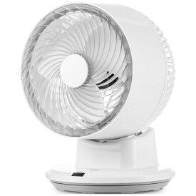 ヤマゼン YAMAZEN YAR-SB18(W) 18cm サーキュレーター扇風機 温度センサー搭載 上下左右自動首振り リモコン式 [リモコン付き]