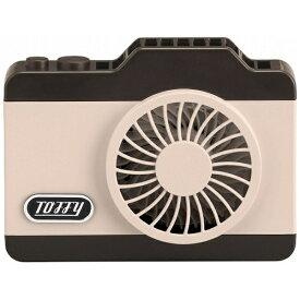 ラドンナ LADONNA LEDハンズフリーカメラファン 扇風機 FN04-SP