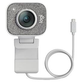 ロジクール Logicool C980OW ウェブカメラ マイク内蔵 USB-C接続 StreamCam ホワイト [有線]