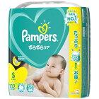P&G ピーアンドジー 【テープ】Pampers(パンパース) さらさらケア ウルトラジャンボ Sサイズ(4kg-8kg) 102枚〔おむつ〕【wtbaby】