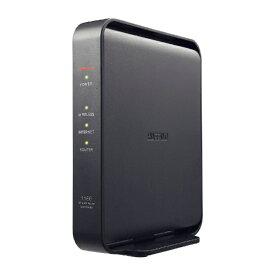 BUFFALO バッファロー WSR-1166DHPL2 無線LAN親機 wifiルーター 866+300Mbps IPv6対応 ブラック [ac/n/a/g/b][無線LANルーター]