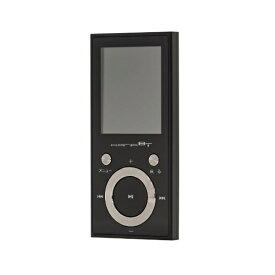グリーンハウス GREEN HOUSE MP3プレーヤー KANA ブラック GH-KANABTC16-BK [16GB]