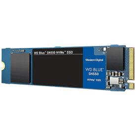 WESTERN DIGITAL ウェスタン デジタル WDS100T2B0C 内蔵SSD WD BLUE SN550 [M.2 /1TB][WDS100T2B0C]