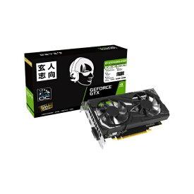 玄人志向 GF-GTX1650D6-E4GB / 玄人志向 / NVIDIA Geforce GTX 1650 GDDR6メモリ 搭載 モデル GF-GTX1650D6-E4GB