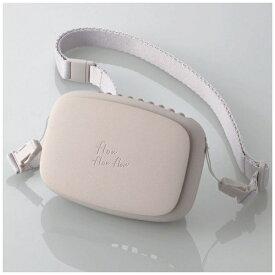 エレコム ELECOM USB扇風機 充電可能 ハンズフリー ネックストラップ付 ベージュ FAN-U206BE