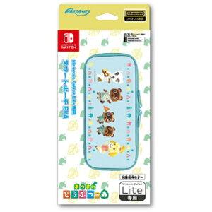 マックスゲームズ MAXGAMES Nintendo Switch Lite専用スマートポーチ EVA あつまれどうぶつの森 HROP-02AD[ニンテンドースイッチ ライト]【Switch Lite】