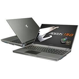 GIGABYTE ギガバイト YB-8JP2130MP ゲーミングノートパソコン AORUS 15G [15.6型 /intel Core i7 /SSD:512GB /メモリ:16GB /2020年4月モデル]