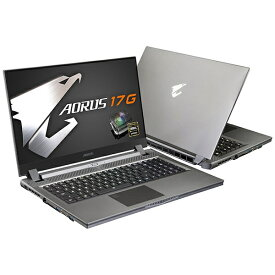 GIGABYTE ギガバイト ゲーミングノートパソコン AORUS 17G SB-7JP1130MH [17.3型 /intel Core i7 /SSD:512GB /メモリ:16GB /2020年5月モデル]