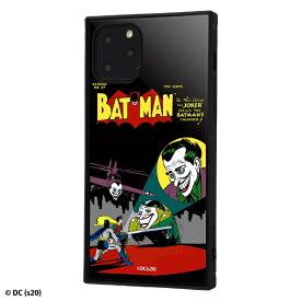 イングレム Ingrem iPhone 11 Pro /バットマン/耐衝撃ハイブリッドケース KAKU/COMIC COMIC IQ-WP23K3TB/BM008