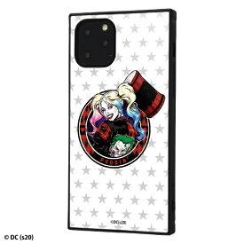 イングレム Ingrem iPhone 11 Pro /バットマン/耐衝撃ハイブリッドケース KAKU/ハーレー・クイン_1 ハーレー・クイン_1 IQ-WP23K3TB/BM010