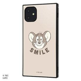 イングレム Ingrem iPhone 11 /トムとジェリー/耐衝撃ハイブリッドケース KAKU/SMILE SMILE IQ-WP21K3TB/TJ007