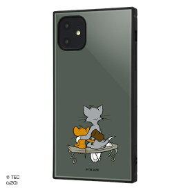 イングレム Ingrem iPhone 11 /トムとジェリー/耐衝撃ハイブリッドケース KAKU/Hammer Hammer IQ-WP21K3TB/TJ008