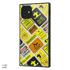 イングレム Ingrem iPhone 11 /トムとジェリー/耐衝撃ハイブリッドケース KAKU/Warning Warning IQ-WP21K3TB/TJ009