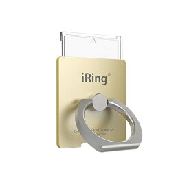 UNIQ ユニーク iRing LINK2 「リングスタンド」 ゴールド ゴールド UMS-IR09ILGO2