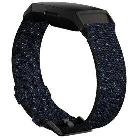 Fitbit フィットビット Charge4交換用Wovenバンド Midnight Sサイズ Midnight FB168WBNVBKS